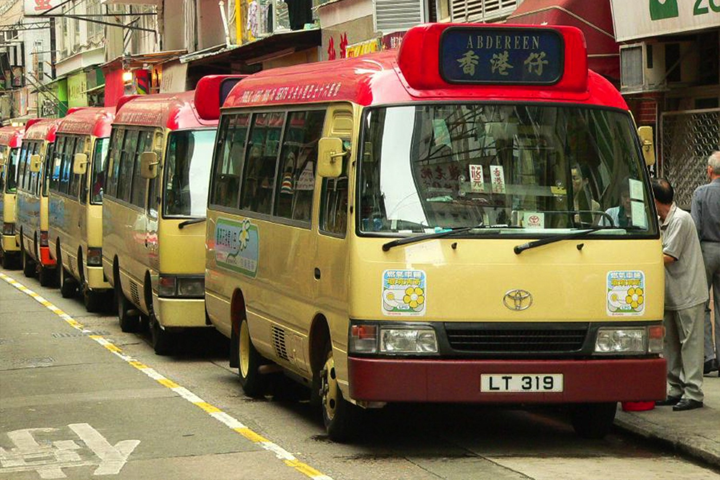 Slow Hong Kong The Speedy Minibus Zolima City Magazine Hk Red Photograph By Alice Miquel