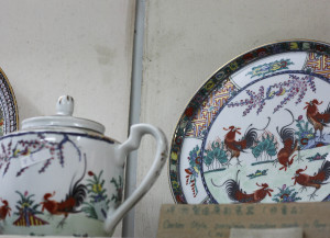 Lam's roosters plate