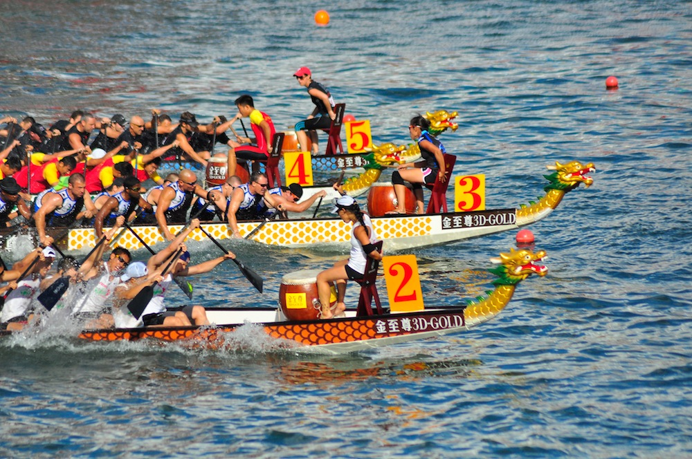 Dragon Boat Races - Wong Ching Wah