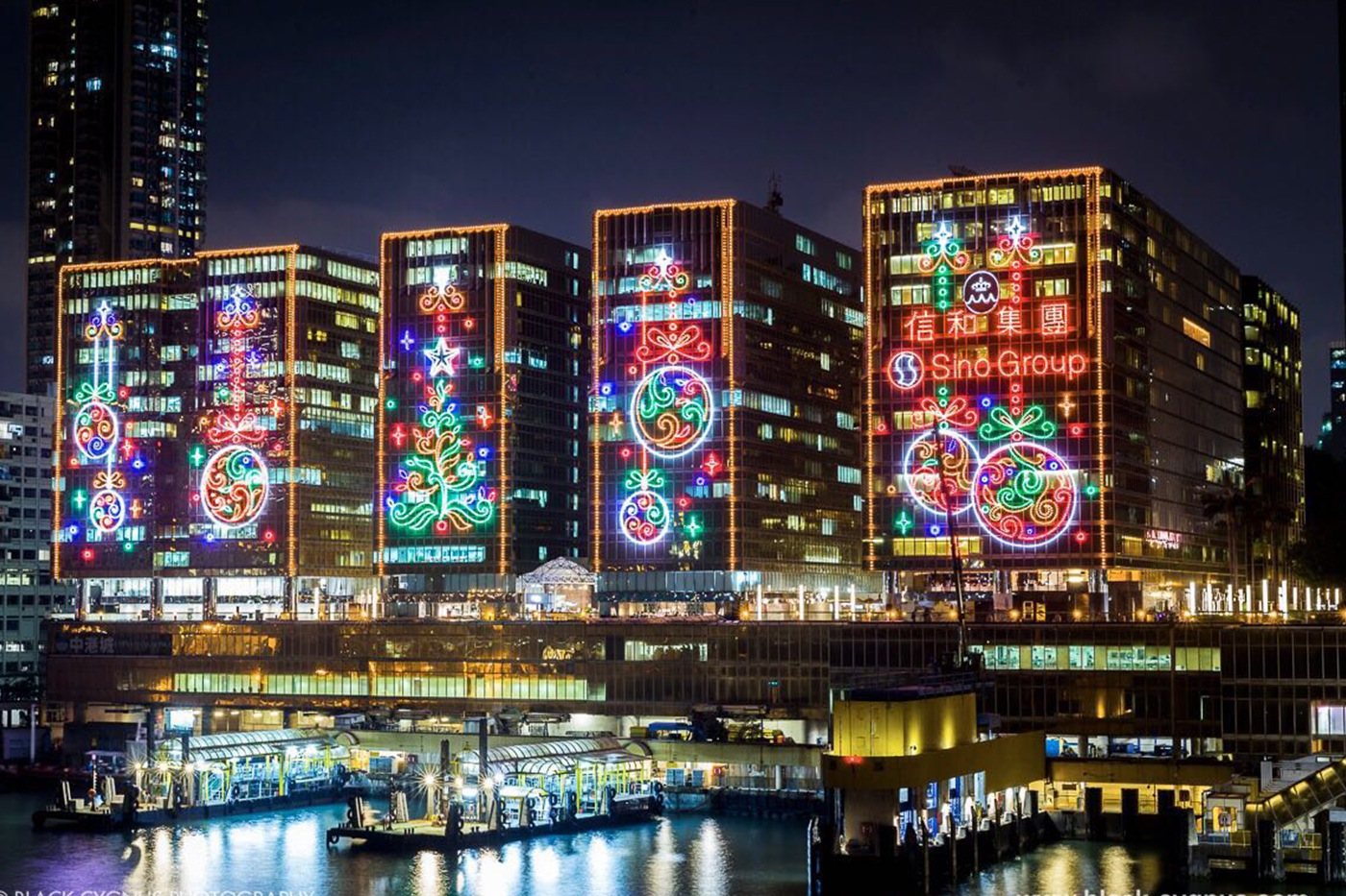 Hong Kong S Skyline Gets Dressed Up For Christmas Zolima
