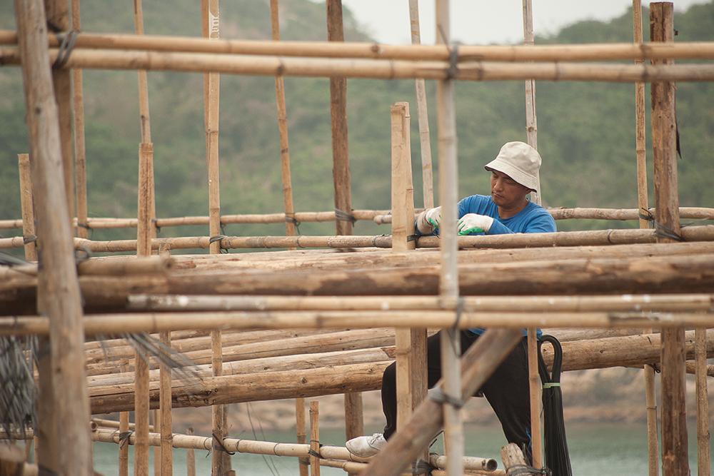 Po Toi Bamboo theatre